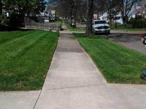 firestone park ohio, akron ohio, lawn care, lawn mowing, core aeration, grass,