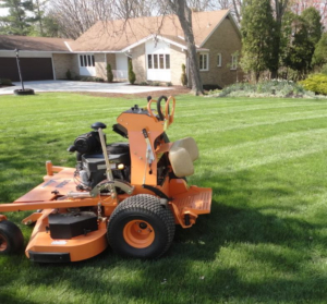 scag mower, commercial mower, akron ohio, professional mowing,