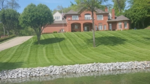 hydros eed, fertilization, akron ohio, weed control, pond,