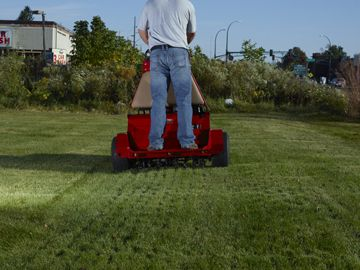 commercial property, aeration, aerating, new seed, fairlawn ohio, bath oh, cuyahoga falls oh, cf falls ohio, 44333, 44313, 44221, 44223, core aerated, overseeding,